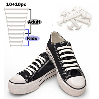 white shoe strings for converse