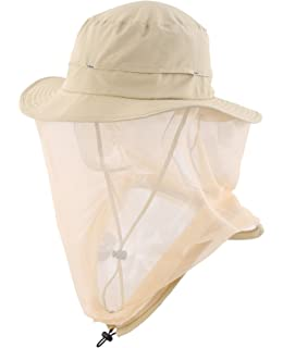 3d8be6a5721 Home Prefer Mosquito Head Net Hat Mens Sun Protection Hat Safari Hat Bucket  Hat
