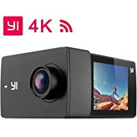 "YI Discovery Action Camera, 4K Sports Cam with 2.0"" Touchscreen, Built-in Wi-Fi, 150°Wide Angle, Sony Image Sensor for Underwater, Outdoor Activity"