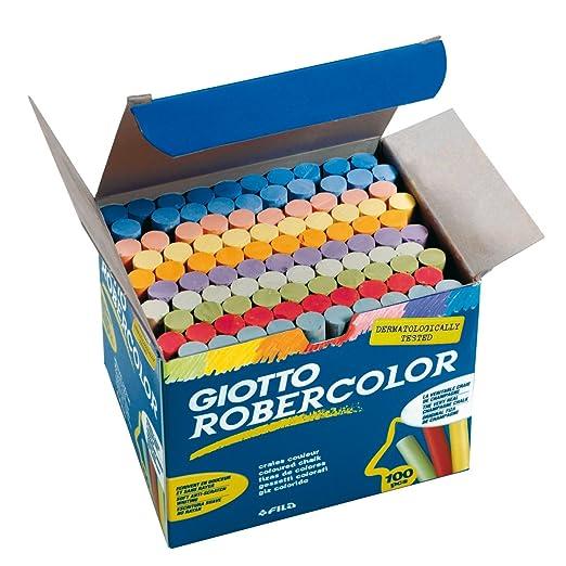 95 opinioni per Giotto Gessi per lavagna, colori vari, scatola 100 pezzi