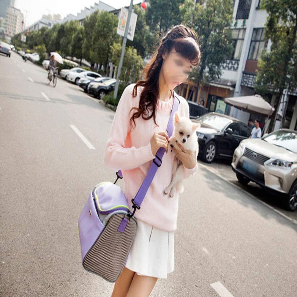 FITIN Pet Pet Pet Tote Pet Carrier Cat Dog Borsa Gatto Cane Borsa da Viaggio Portatile Traspirante Gabbia per Animali da Compagnia Adatto per la Maggior Parte dei Piccoli Animali,S 16c0c2