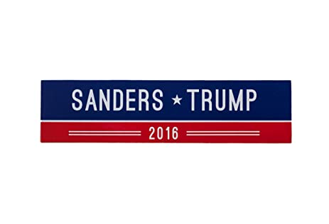 Political bumper sticker magnet by untold goods political candidate magnetic bumper sticker sanders