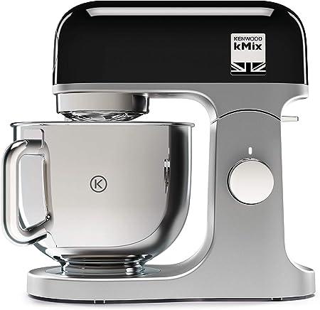 Kenwood kMix KMX750BK, Robot Pâtissier, Robot pâtissier multifonctions avec Bol en Acier 5 L, 1000 Watt, Noir
