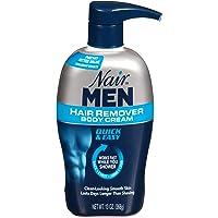 Nair Hair Remover for Men Hair Remover Body Cream, 13 oz.