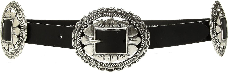 Amsterdam Heritage Leather Belt 25505 Boho Vintage Black belt
