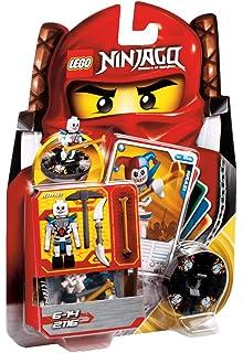 lego ninjago 2116 jeu de construction krazi squelette bleu