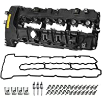A-Premium Engine Valve Cover with Gasket & Bolt Compatible with BMW 135i 2008-2013 325i 2011-2013 335i 2007-2015 335i…
