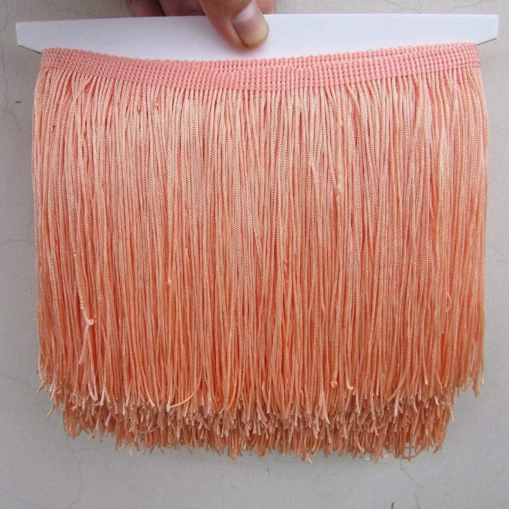 "10 yards 7/"" Chainette Fringe Dance Costume Lamp Trim 22 COLORS U Pick Color"