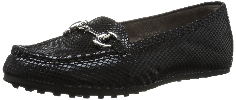 Black Snake Aerosoles Women's Drive Through Slip-On Loafer
