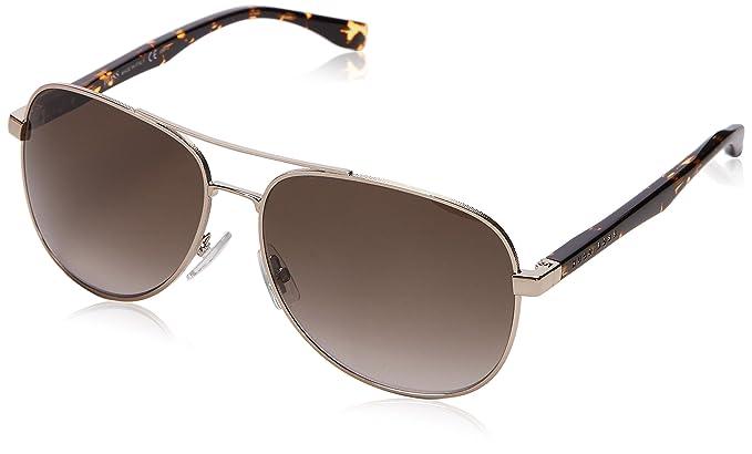 383422ba28 Amazon.com  BOSS by Hugo Boss Men s B0700S Aviator Sunglasses