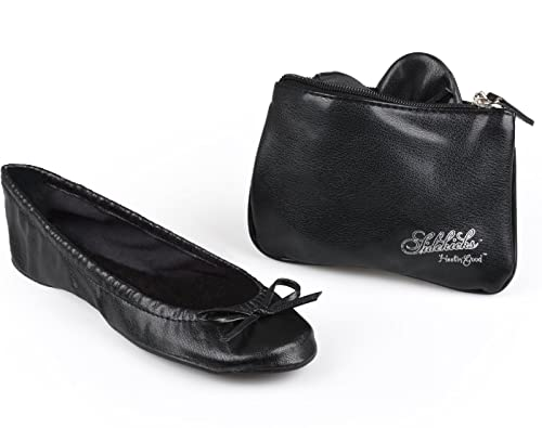 62666cf3703 Image Unavailable. Image not available for. Color  Sidekicks Small Black  Foldable Ballet ...