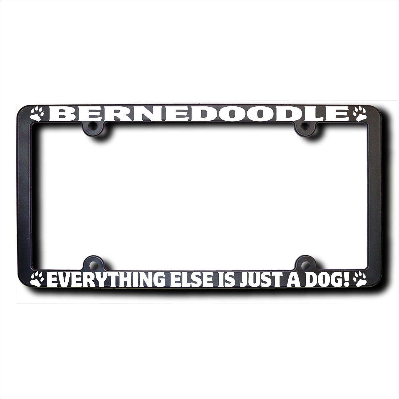 bernedoodle Alles andere ist nur ein Hund Nummernschild Rahmen ...