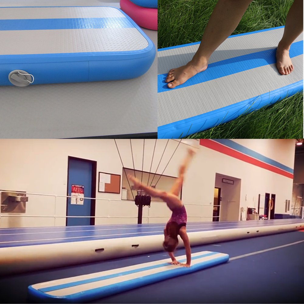 Inflatable Balance Beam Fitness Mat Air Track for Gumnastics Training Beam 10Feet by Great river & hill (Image #1)