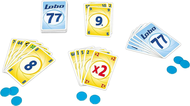 GIGAMIC – amlobo Lobo 77 – Juego de Tarjeta –: Amazon.es: Juguetes y juegos