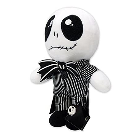 "The Nightmare Before Christmas Gifts Jack Skellington Plush Stuffed 8"" ..."