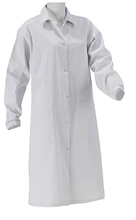 ff4f3d50a27c KOKOTT Laborkittel Damen und Herren, Medizin, weiß, 100% Baumwolle mit  Druckknöpfen,