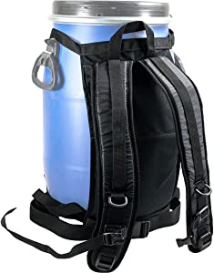 Harmony Gear Dry Storage Barrel Harness 30 Liter
