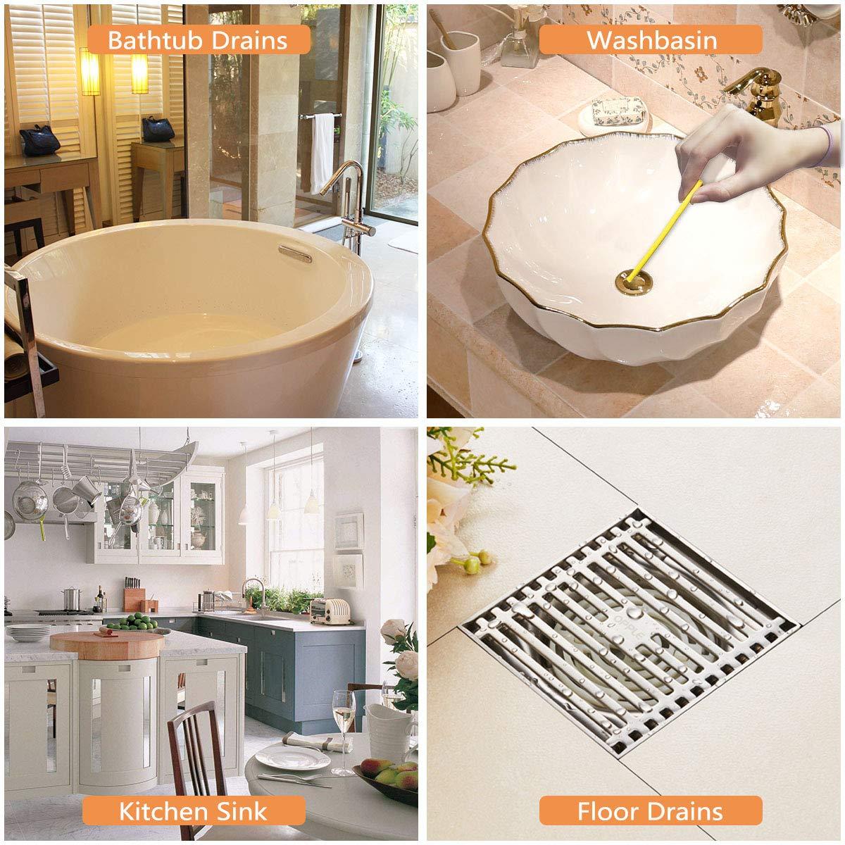 Amazon.com: Siner - Varillas limpiadoras de desagüe ...