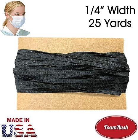 Amazon Com Foamrush Premium Quality 1 4 Wide 25 Yards Black