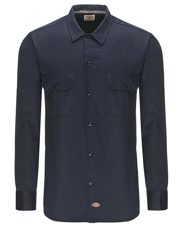 Dickies Men's Long Sleeve WL576 Slim Fit Casual Shirt