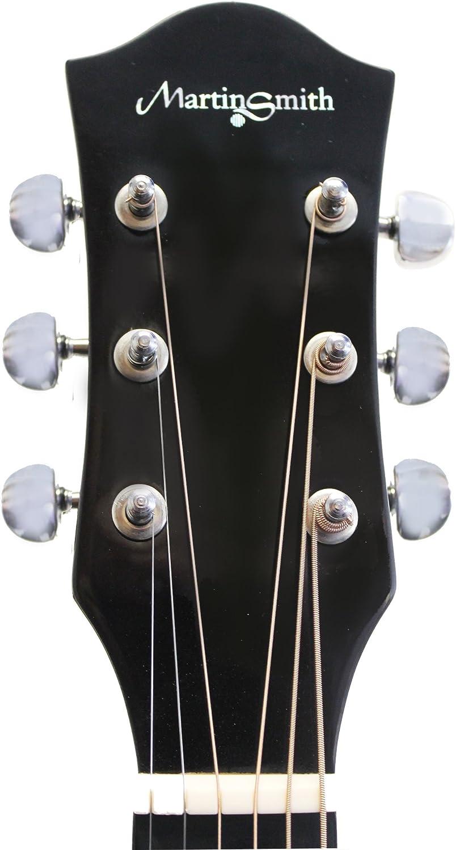 Martin Smith W-100-N-LH-PK El paquete guitarra acústica para ...