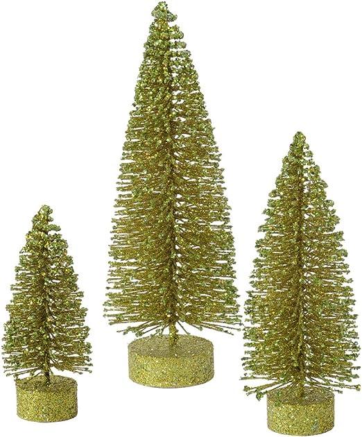 Vickerman Glitter Set Tabletop Tree L137402