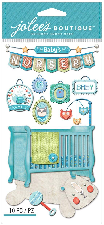 Baby Boy Nursery Jolees Boutique Dimensional Stickers