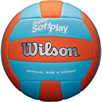Wilson Super Soft Play Volleyball (Orange/Blau) WTH90119XB