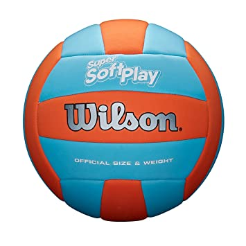 Wilson WTH90119XB Pelota de Voleibol Super Soft Play Cuero ...