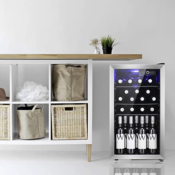 Antarctic Star 26 botellas de vino enfriador/lavabo Refigerador ...