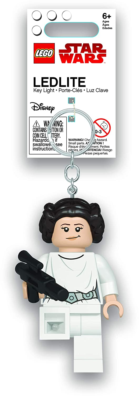 Amazon.com: LEGO Star Wars - Princess Leia with Blaster LED ...