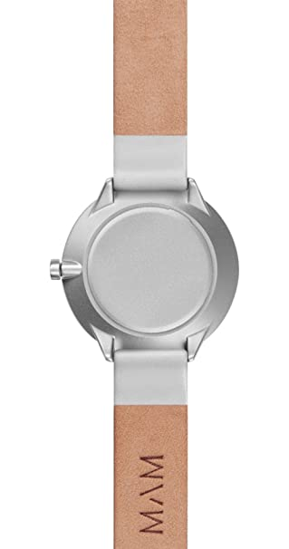 Amazon.com: Mam originals Light Maple Grey Womens Analog Japanese Quartz Watch with Synthetic Leather Bracelet 072: Watches
