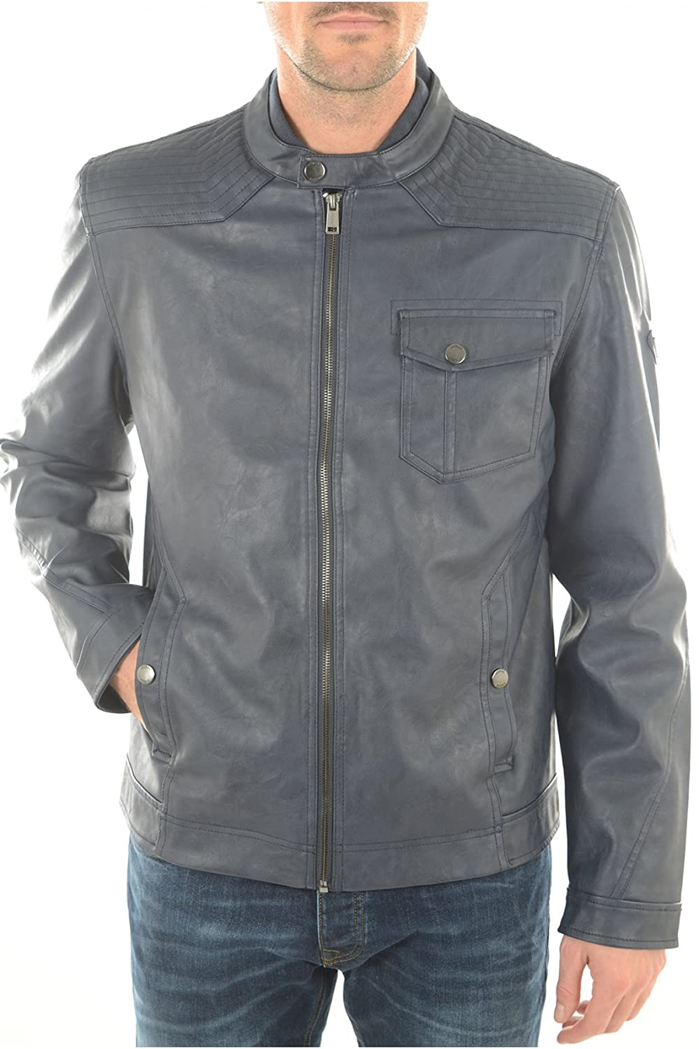 Guess Men's Jacket blue blue