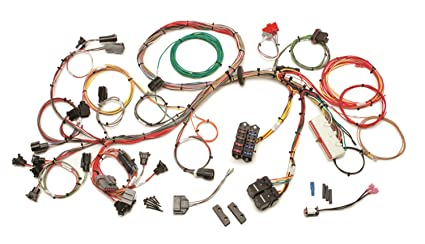 Amazon.com: Painless 60510 5.0L Wiring Harness: Automotive on 5.3 vortec swap harness, car harness, duraspark harness, 1972 chevy truck harness, dodge ram injector harness, ford 5.0 fuel injection harness, fuel injector harness, horse team harness, chevy tbi harness, rover series 3 diesel harness, 5 point harness, indestructible dog harness, racing seat harness, bully dog harness, radio harness, electrical harness, painless fuse box, horse driving harness, painless engine harness, front lead dog harness,