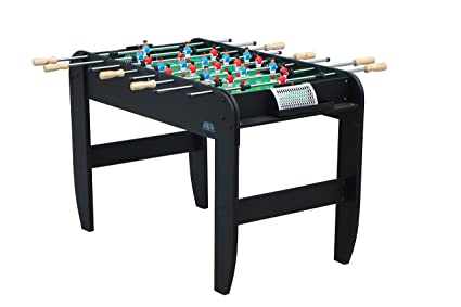 Incroyable KICK Foosball Table Liberty Black, 48 In