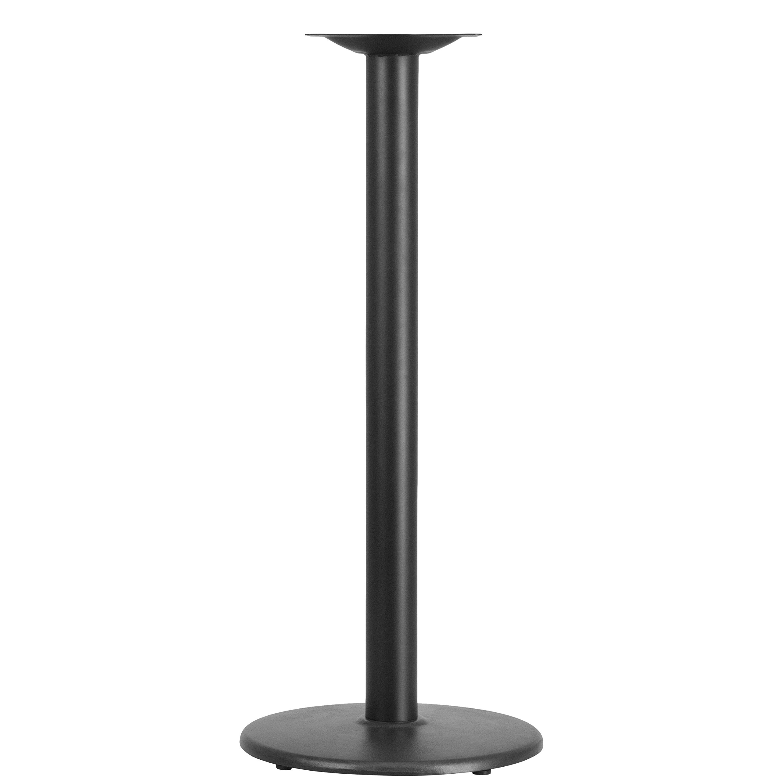 Flash Furniture 18'' Round Restaurant Table Base with 3'' Dia. Bar Height Column by Flash Furniture