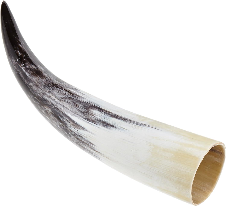 Unbekannt Corne /à Boire LARP Accessoires stilechtes Vase dexpansion pour Met Produit Naturel qualit/é Alimentaire