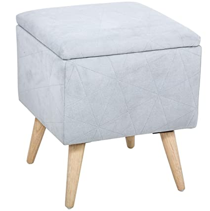 Gran taburete puf baúl de almacenamiento - Estilo Escandinavo ...