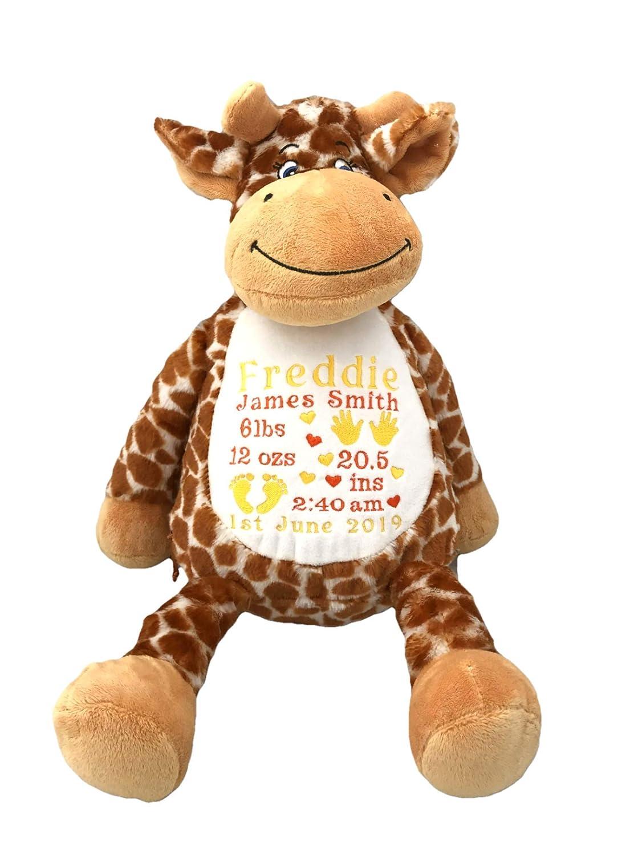 Giraffe Personalised Keepsake Toy