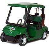 4½ Die-cast Metal Golf Cart Model (Green) by KinsFun