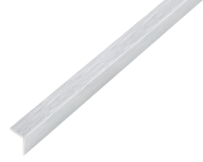 design chrom/é Aluminium autoadh/ésive 1000 x 10 x 10 mm GAH Alberts 488505 Corni/ère