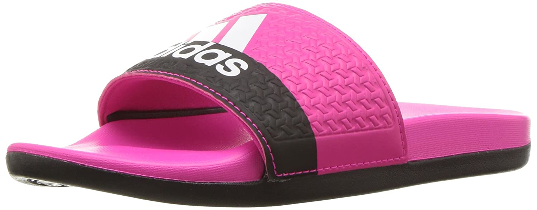 97834ba99742 adidas Kids  adilette Cloudfoam+ Slides  Amazon.ca  Shoes   Handbags