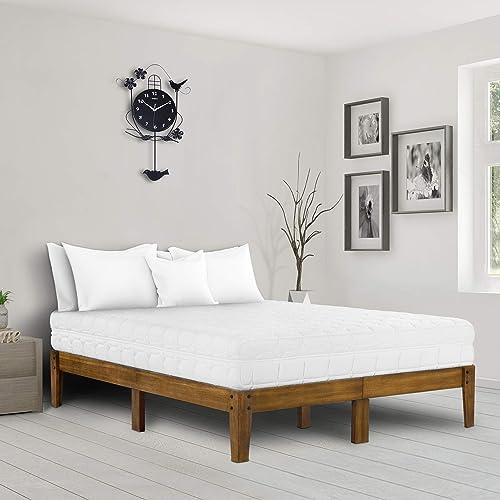 Ecos Living 14 Inch Solid Wood Platform Bed