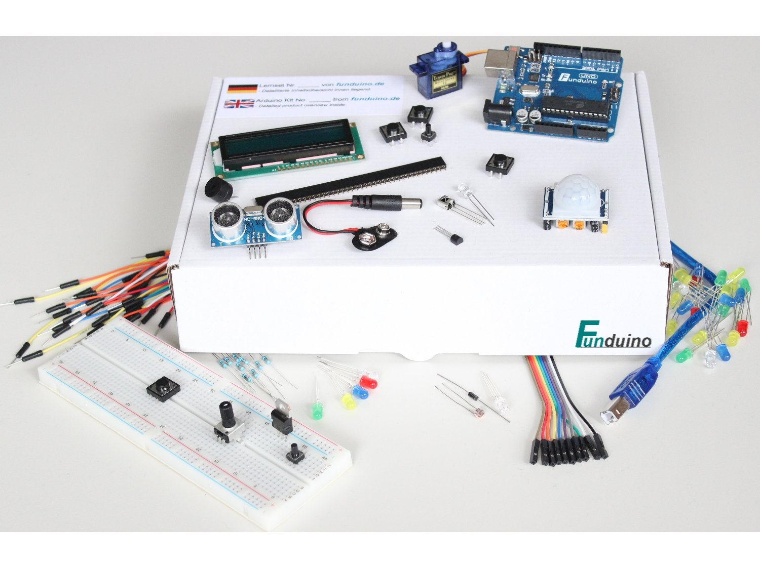 Arduino compatible Kit nº1