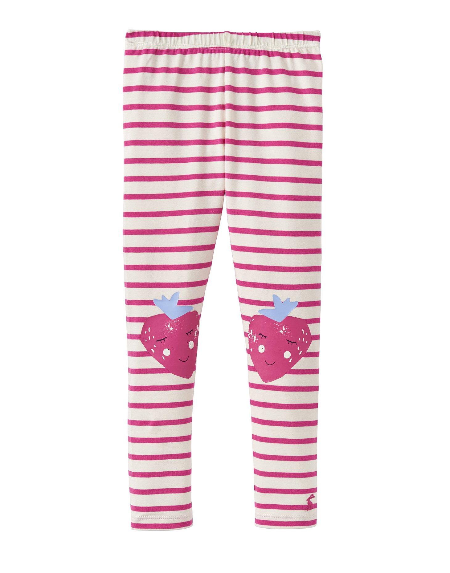 Joules Character Leggings - Bright Pink Stripe - 1 Year - 80 cm