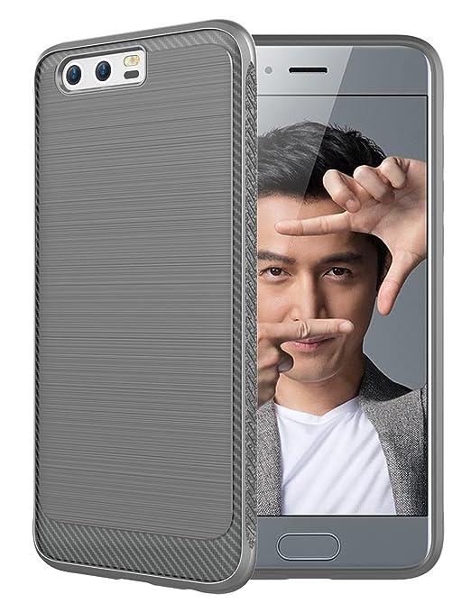 6 opinioni per Huawei Honor 9 Cover, Custodia Sottile e Morbida Protettiva in Silicone TPU con