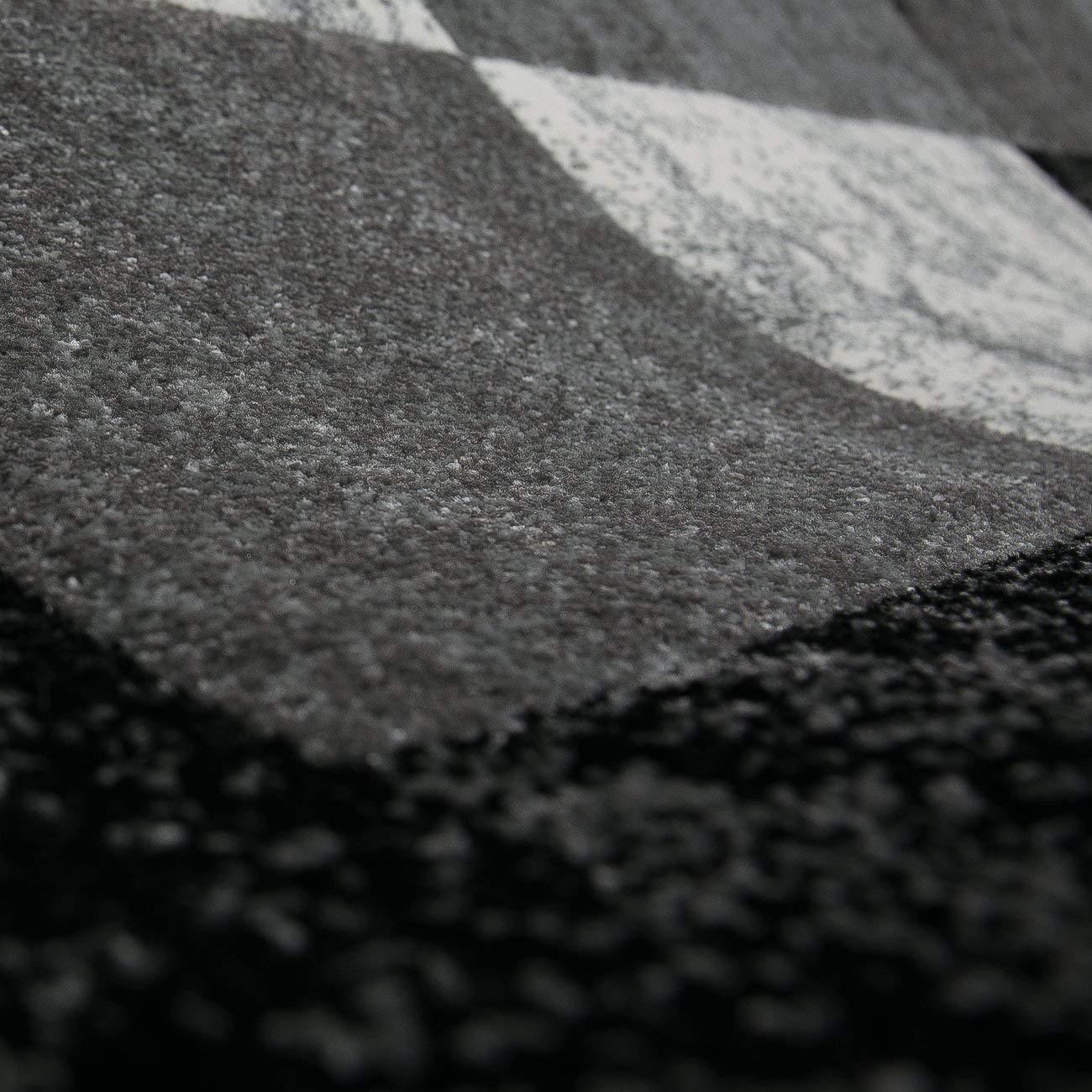 VIMODA Wohnzimmer Teppich Teppich Teppich Modern Schwarz Rot Grau Marmor Stein Optik Velours, Maße 120x170 cm B01NCOLKLA Teppiche 014cf7