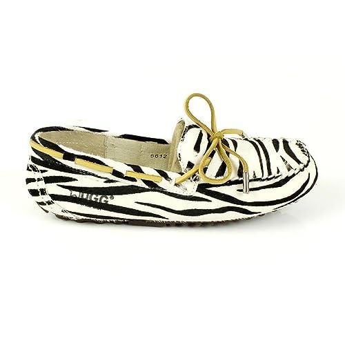 aa6f28b8a0d UGG Sheepskin Moccasin Suede Ladies Women Shoes Leopard Zebra ...