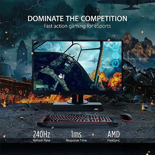 ViewSonic XG2530 25 Inch 1080p 240Hz 1ms Gaming Monitor
