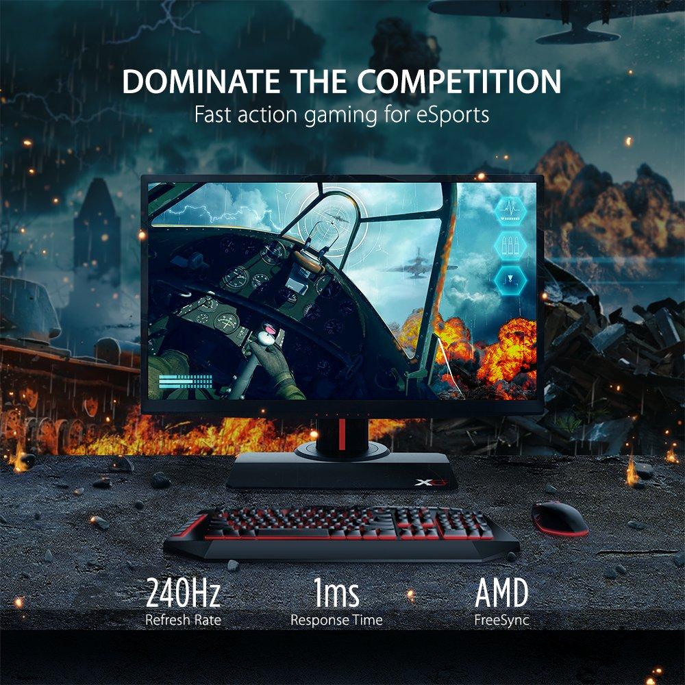ViewSonic 240Hz Gaming Monitor VS BenQ Zowie 240Hz Gaming Monitor